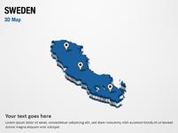 Sweden 3D Map