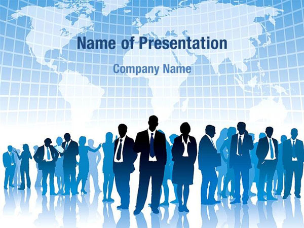 People Silhouettes Powerpoint Templates People Silhouettes
