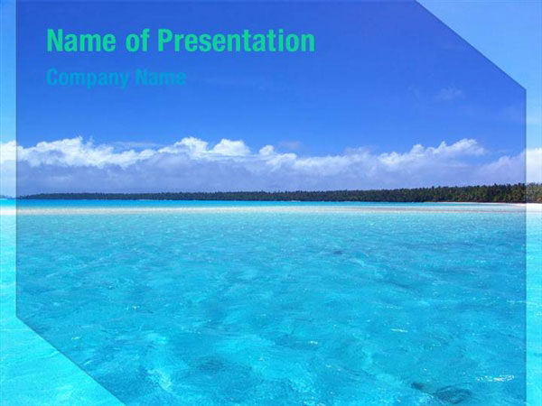 Sea Water Powerpoint Templates  Sea Water Powerpoint Backgrounds