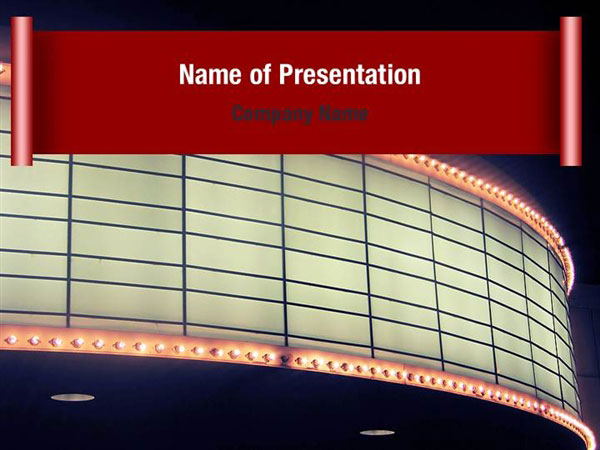 Premiere powerpoint templates premiere powerpoint for Film premiere invitation template