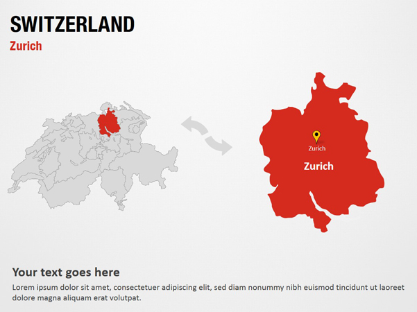 Zurich - Switzerland PowerPoint Map Slides - Zurich - Switzerland Map on montreux switzerland map, rhine river map, seoul korea map, geneva map, zermatt village map, edinburgh scotland map, europe map, zurich google map, france map, zurich language, madrid spain map, austria map, zurich world map, bern switzerland map, brugg switzerland map, basel switzerland map, pfaffikon switzerland map, barcelona map, paris switzerland map, switzerland on a map,