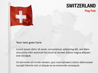 Switzerland Flag Pole
