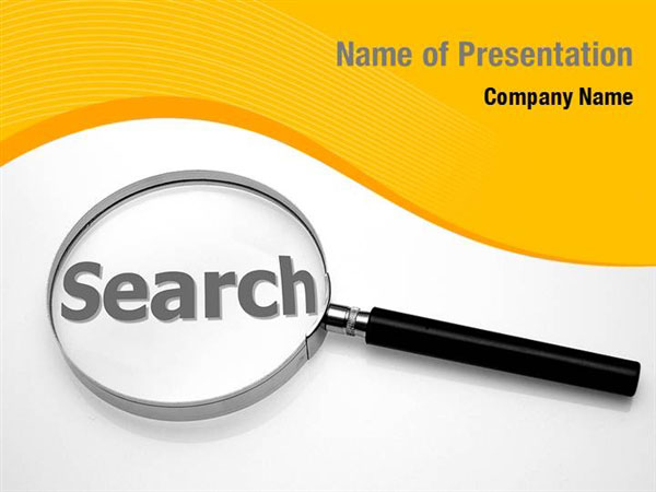 Magnifying Glass In Search Powerpoint Templates Magnifying Glass In Search Powerpoint Backgrounds Templates For Powerpoint Presentation Templates Powerpoint Themes