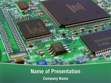 circuit board powerpoint template