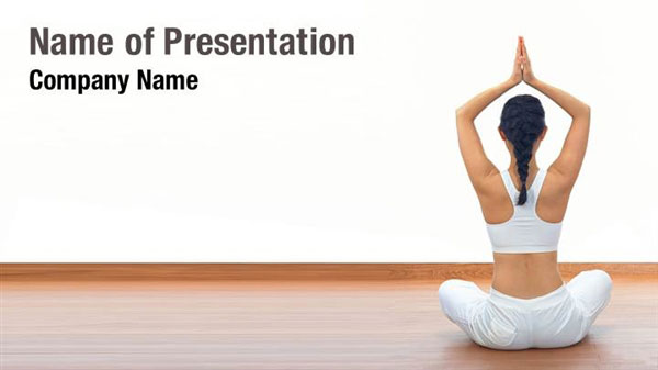 Yoga Class Powerpoint Templates Yoga Class Powerpoint Backgrounds Templates For Powerpoint Presentation Templates Powerpoint Themes