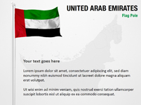 United Arab Emirates Flag Pole