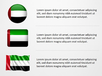United Arab Emirates Flag Icons