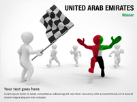 United Arab Emirates  Winner