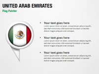 United Arab Emirates Flag Pointer