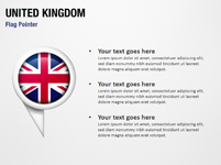 United Kingdom Flag Pointer