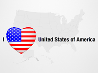 I Love United States of America
