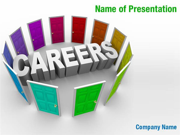 Careers Powerpoint Templates Careers Powerpoint