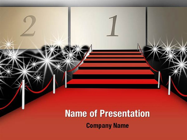 Walk Of Fame Powerpoint Templates Walk Of Fame Powerpoint