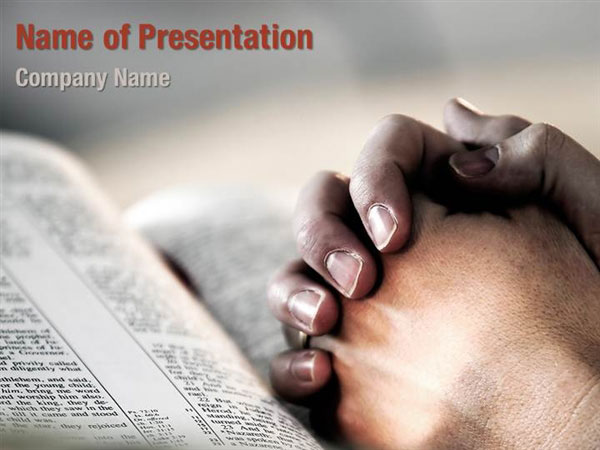 praying hands powerpoint templates