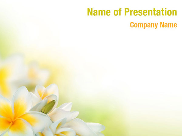 Floral Theme Powerpoint Templates Floral Theme Powerpoint