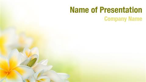 Floral Theme PowerPoint Templates - Floral Theme PowerPoint ...