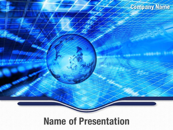 technology world powerpoint templates