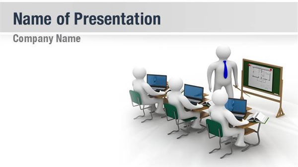 orientation powerpoint presentation template - course training powerpoint templates course training
