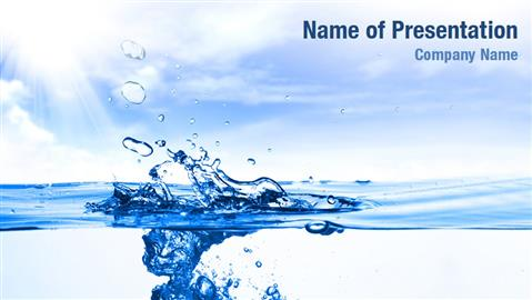 500 Water Supply Powerpoint Templates Powerpoint