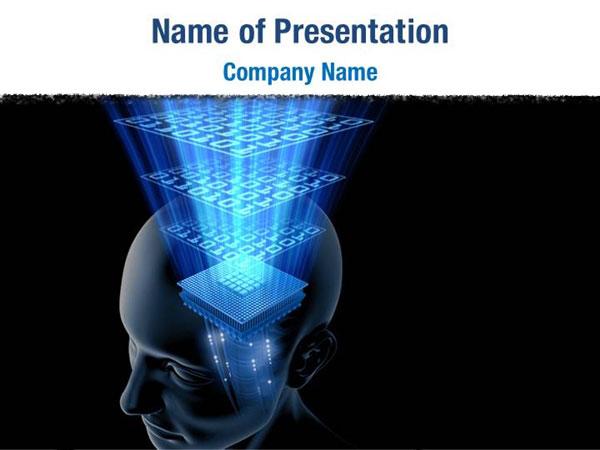 Artificial Mind Powerpoint Templates Artificial Mind