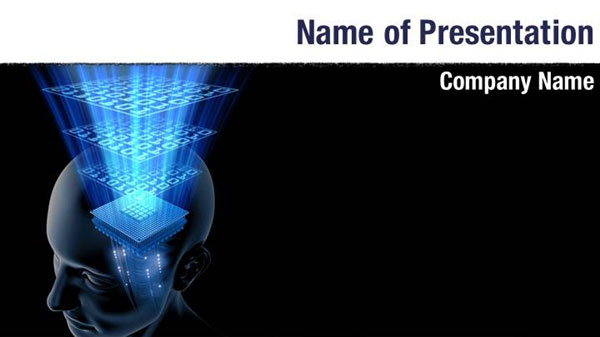 Thinking Brain Powerpoint Templates - Thinking Brain Powerpoint