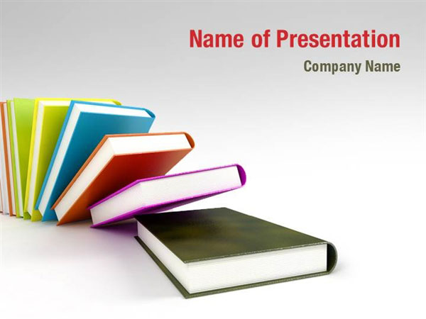 books line powerpoint templates books line powerpoint