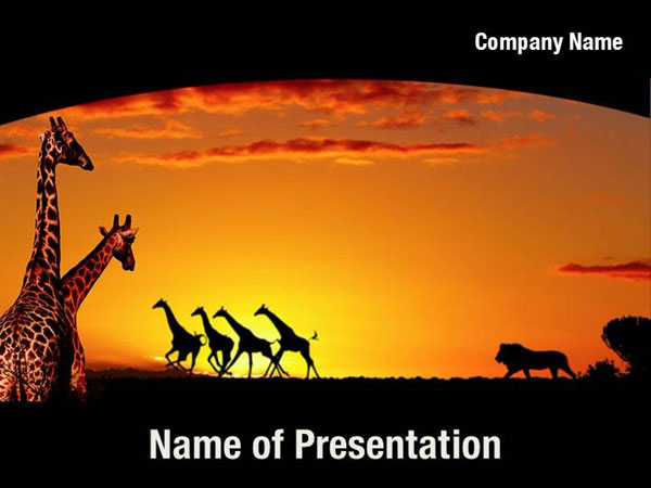 Africa Powerpoint Templates Africa Powerpoint Backgrounds Templates For Powerpoint Presentation Templates Powerpoint Themes