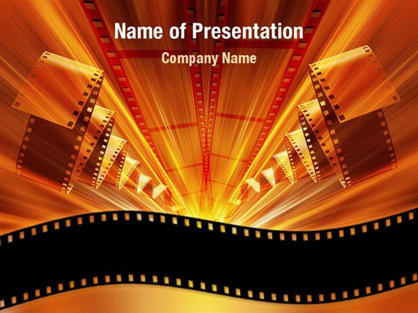 cinema strip powerpoint templates