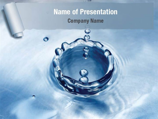 Water Splash Powerpoint Templates - Water Splash Powerpoint