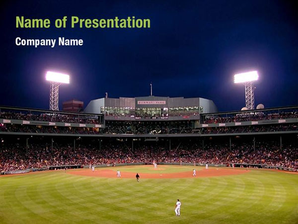 Baseball Powerpoint Templates  Baseball Powerpoint Backgrounds