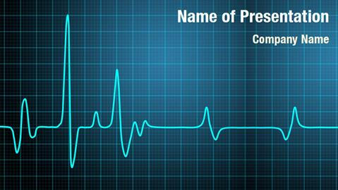 cardiac ppt template - arrhythmia powerpoint templates powerpoint backgrounds