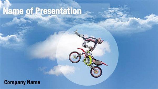 Acrobatic Motocross