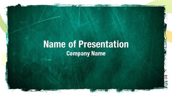 Chalkboard Powerpoint Template Free Download from cdn.digitalofficepro.com