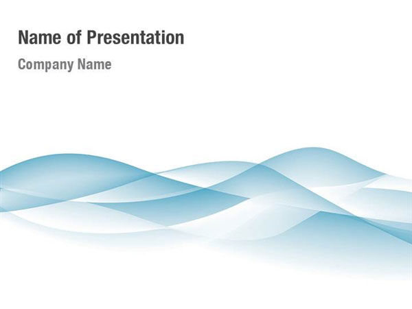 Blue Wave Powerpoint Templates Blue Wave Powerpoint Backgrounds Templates For Powerpoint Presentation Templates Powerpoint Themes