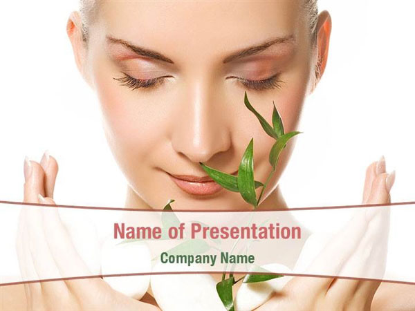 Bio Cosmetics Powerpoint Templates Bio Cosmetics
