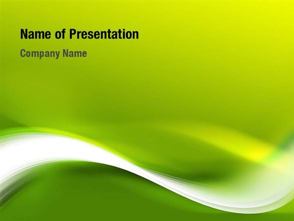 green theme powerpoint templates