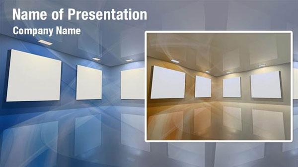 Virtual Gallery PowerPoint Templates - Virtual Gallery