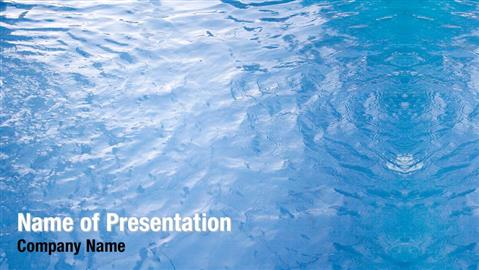 Blue Water Powerpoint Templates - Blue Water Powerpoint