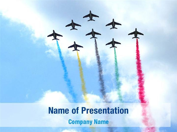 Aircraft Parade Powerpoint Templates Aircraft Parade