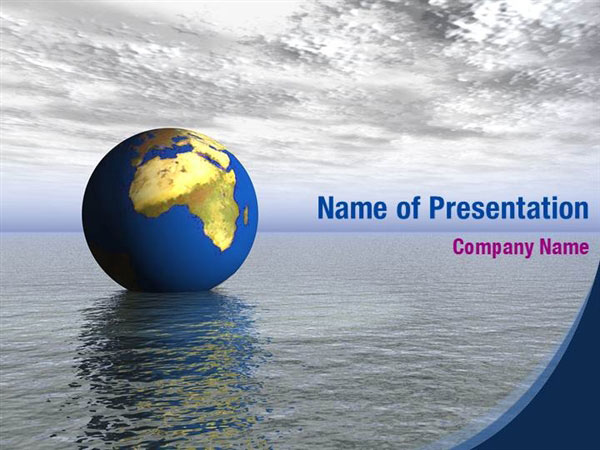 Land And Water Powerpoint Templates Land And Water