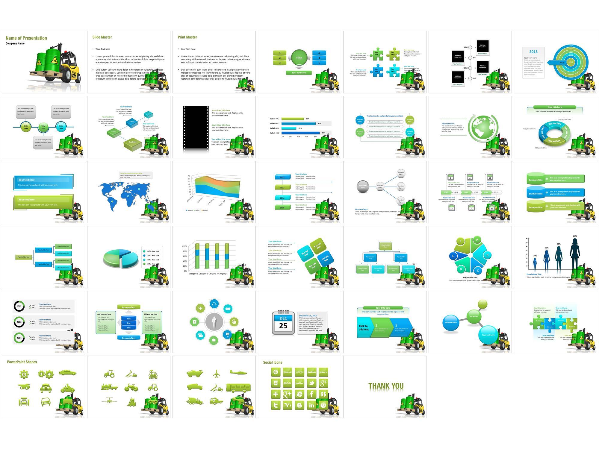 Waste Management PPT Templates Download