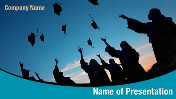 Graduation Day PowerPoint Template Backgrounds