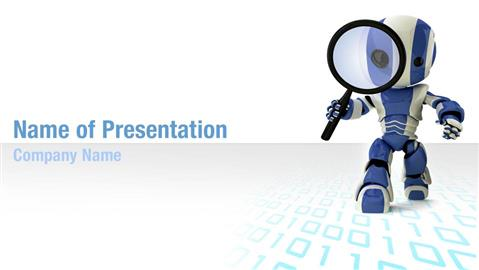 Robot PowerPoint Templates - Templates for PowerPoint, Robot