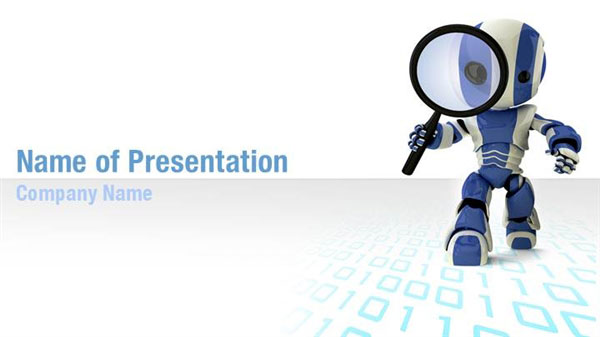 Search Robot PowerPoint Templates - Search Robot ...