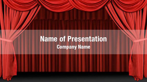 stage powerpoint templates
