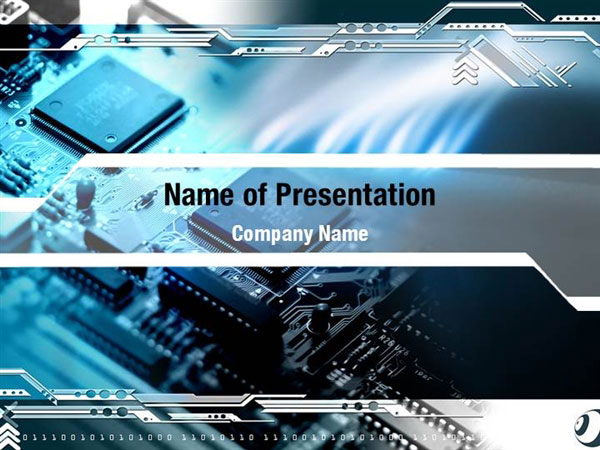 chip board powerpoint templates