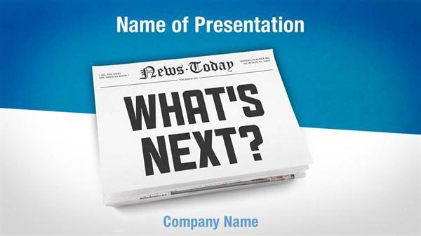 News Headline Powerpoint Templates - News Headline Powerpoint