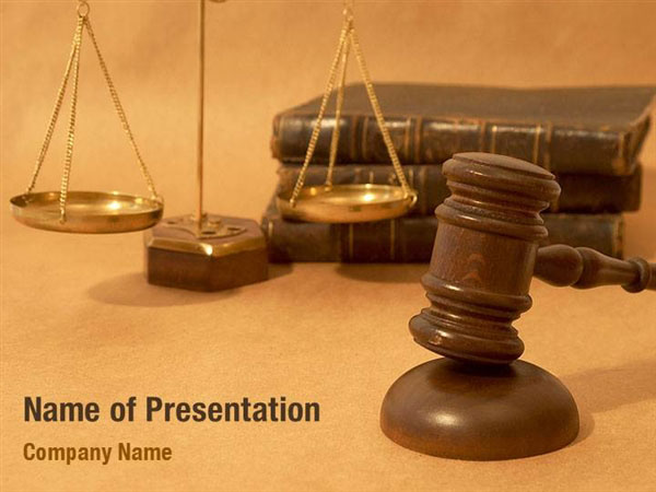 Justice And Court Powerpoint Templates Justice And Court