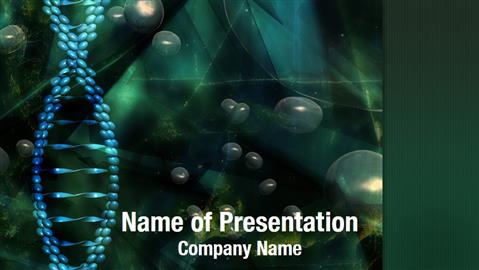 Powerpoint Templates Free Download Bacteria