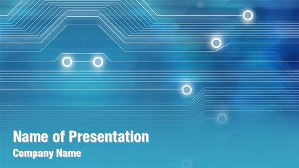 Abstract Technology Art Powerpoint Templates Abstract